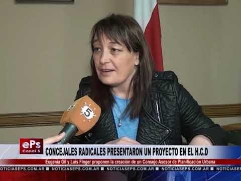 CONCEJALES RADICALES PRESENTARON UN PROYECTO EN EL HCD