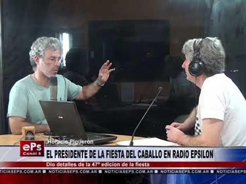 HOACION FIGUERON ANUNCIO SU RETIRO COMO PRESIDENTE DE LA COMISION DE LA FIESTA NACIONAL DEL CABALLO