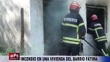 INCENDIO EN UNA VIVIENDA DEL BARRIO FÁTIMA