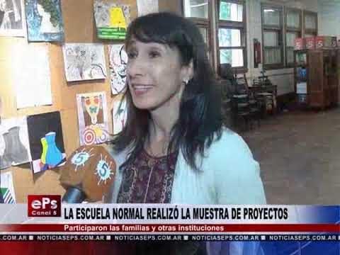LA ESCUELA NORMAL REALIZÓ LA MUESTRA DE PROYECTOS