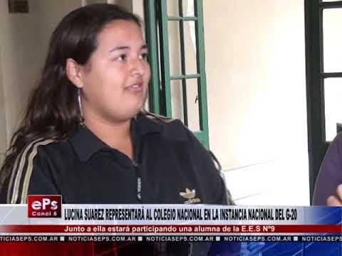 LUCINA SUAREZ REPRESENTARÁ AL COLEGIO NACIONAL EN LA INSTANCIA NACIONAL DEL G 20