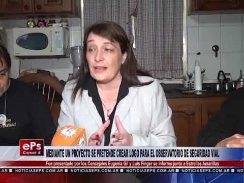 MEDIANTE UN PROYECTO SE PRETENDE CREAR LOGO PARA EL OBSERVATORIO DE SEGURIDAD VIAL