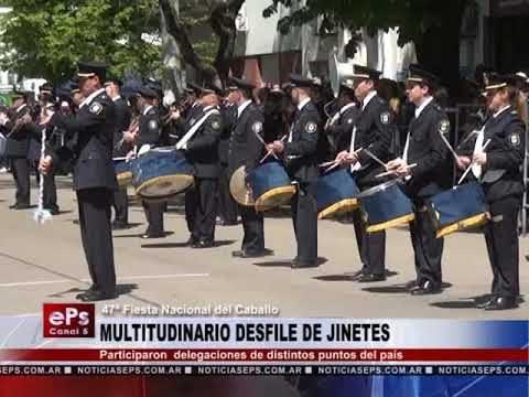 MULTITUDINARIO DESFILE DE JINETES