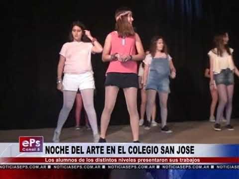 NOCHE DEL ARTE EN EL COLEGIO SAN JOSE