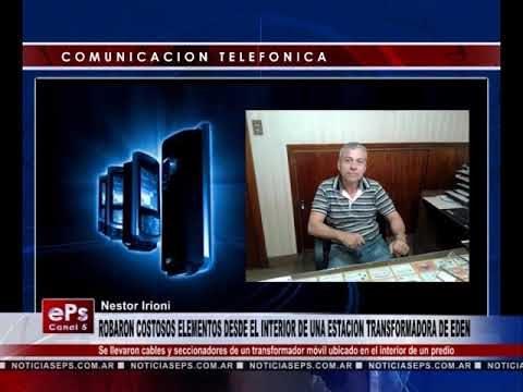 ROBARON COSTOSOS ELEMENTOS DESDE EL INTERIOR DE UNA ESTACION TRANSFORMADORA DE EDEN