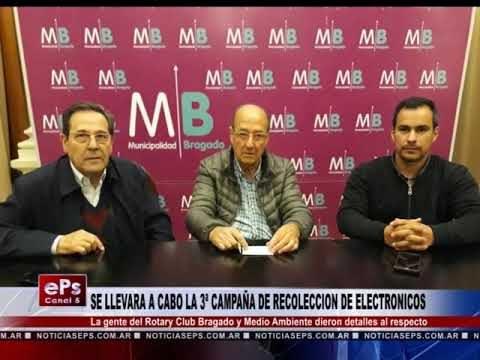 SE LLEVARA A CABO LA 3ª CAMPAÑA DE RECOLECCION DE ELECTRONICOS