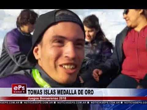 TOMAS ISLAS MEDALLA DE ORO