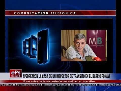 APEDREARON LA CASA DE UN INSPECTOR DE TRÁNSITO EN EL BARRIO FONAVI