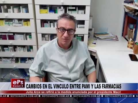 CAMBIOS EN EL VINCULO ENTRE PAMI Y LAS FARMACIAS