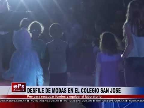 DESFILE DE MODAS EN EL COLEGIO SAN JOSE