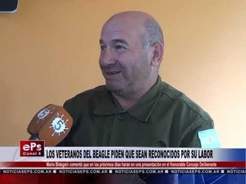 LOS VETERANOS DEL BEAGLE PIDEN QUE SEAN RECONOCIDOS POR SU LABOR