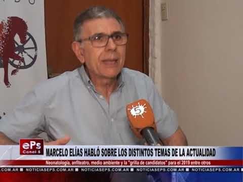 MARCELO ELÍAS HABLÓ SOBRE LOS DISTINTOS TEMAS DE LA ACTUALIDAD 2ª PARTE
