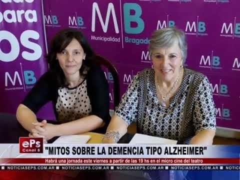MITOS SOBRE LA DEMENCIA TIPO ALZHEIMER