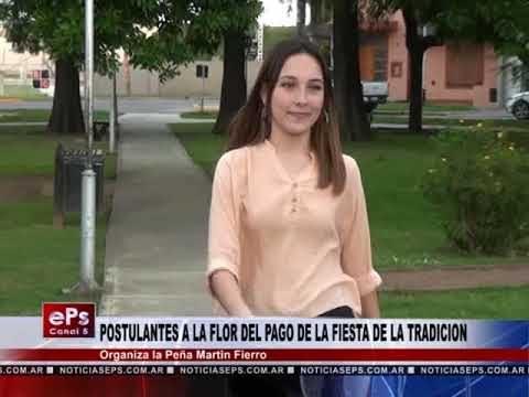 POSTULANTES A LA FLOR DEL PAGO DE LA FIESTA DE LA TRADICION