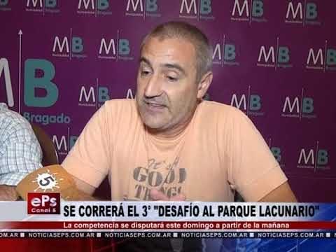 SE CORRERÁ EL 3° DESAFÍO AL PARQUE LACUNARIO