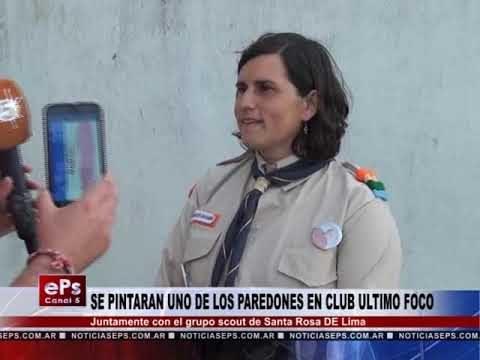 SE PINTARAN UNO DE LOS PAREDONES EN CLUB ULTIMO FOCO