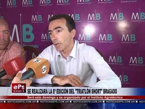 SE REALIZARÁ LA 8º EDICIÓN DEL TRIATLÓN SHORT BRAGADO