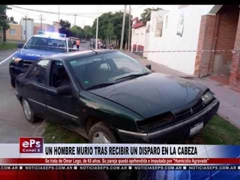 UN HOMBRE MURIO TRAS RECIBIR UN DISPARO EN LA CABEZA