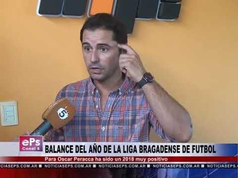 BALANCE DEL AÑO DE LA LIGA BRAGADENSE DE FUTBOL
