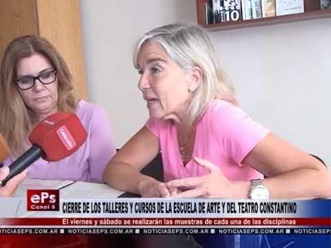 CIERRE DE LOS TALLERES Y CURSOS DE LA ESCUELA DE ARTE Y DEL TEATRO CONSTANTINO
