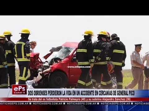 DOS OBRIENSES PERDIERON LA VIDA EN UN ACCIDENTE EN CERCANÍAS DE GENERAL PICO