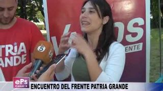 ENCUENTRO DEL FRENTE PATRIA GRANDE