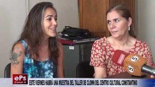 ESTE VIERNES HABRÁ UNA MUESTRA DEL TALLER DE CLOWN DEL CENTRO CULTURAL CONSTANTINO