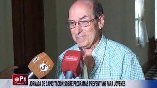 JORNADA DE CAPACITACIÓN SOBRE PROGRAMAS PREVENTIVOS PARA JÓVENES
