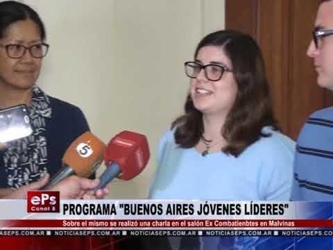 PROGRAMA BUENOS AIRES JÓVENES LÍDERES