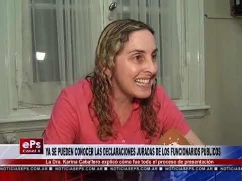 YA SE PUEDEN CONOCER LAS DECLARACIONES JURADAS DE LOS FUNCIONARIOS PÚBLICOS
