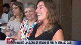 COMENZÓ LA COLONIA DE VERANO DE PAMI EN BRAGADO CLUB
