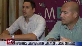 HOY COMIENZA LAS ACTIVIDADES EN LA PILETA DE LA LAGUNA DE BRAGADO