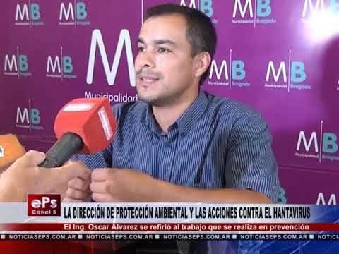 LA DIRECCIÓN DE PROTECCIÓN AMBIENTAL Y LAS ACCIONES CONTRA EL HANTAVIRUS