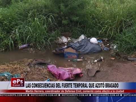 LAS CONSECUENCIAS DEL FUERTE TEMPORAL QUE AZOTÓ BRAGADO