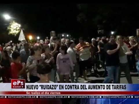 NUEVO RUIDAZO EN CONTRA DEL AUMENTO DE TARIFAS