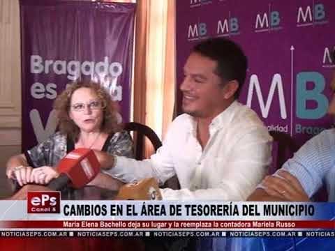 CAMBIOS EN EL ÁREA DE TESORERÍA DEL MUNICIPIO