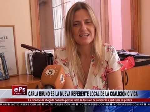 CARLA BRUNO ES LA NUEVA REFERENTE LOCAL DE LA COALICIÓN CIVICA