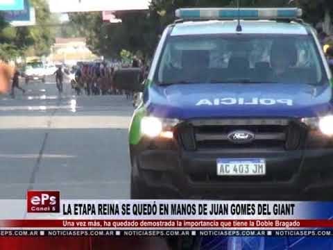 LA ETAPA REINA SE QUEDÓ EN MANOS DE JUAN GOMES