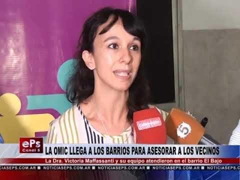 LA OMIC LLEGA A LOS BARRIOS PARA ASESORAR A LOS VECINOS