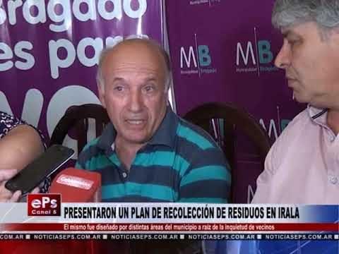 PRESENTARON UN PLAN DE RECOLECCIÓN DE RESIDUOS EN IRALA