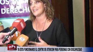 YA ESTA FUNCIONANDO EL CENTRO DE ATENCION PARA PERSONAS CON DISCAPACIDAD