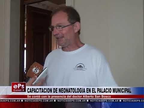 CAPACITACION DE NEONATOLOGIA EN EL PALACIO MUNICIPAL