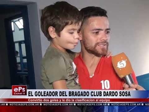 EL GOLEADOR DEL BRAGADO CLUB DARDO SOSA