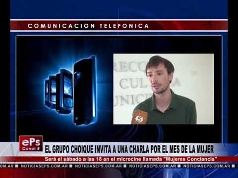EL GRUPO CHOIQUE INVITA A UNA CHARLA POR EL MES DE LA MUJER