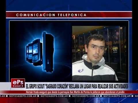 EL GRUPO SCOUT SAGRADO CORAZÓN RECLAMA UN LUGAR PARA REALIZAR SUS ACTIVIDAD