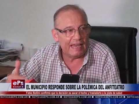 EL MUNICIPIO RESPONDE SOBRE LA POLÉMICA DEL ANFITEATRO
