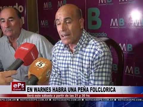 EN WARNES HABRA UNA PEÑA FOLCLORICA