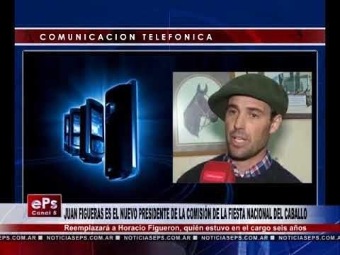 JUAN FIGUERAS ES EL NUEVO PRESIDENTE DE LA COMISIÓN DE LA FIESTA NACIONAL DEL CABALLO