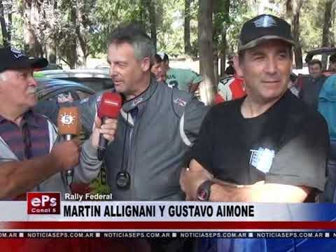 MARTIN ALLIGNANI Y GUSTAVO AIMONE