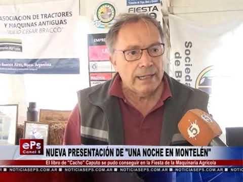 NUEVA PRESENTACIÓN DE UNA NOCHE EN MONTELÉN